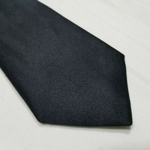 Black Silk CALVIN KLEIN Skinny Tie